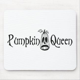 Pumpkin Queen B W Mouse Pads
