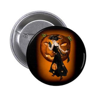 Pumpkin Queen - Button