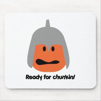 Pumpkin ready for chunkin t-shirt mouse mat
