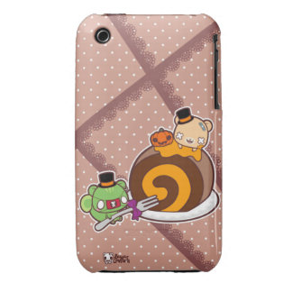 Pumpkin Roll Delight iPhone 3 Cover