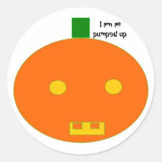 Pumpkin*_* Round Sticker