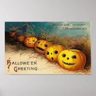 Pumpkin Row - Curioser and Curioser Poster