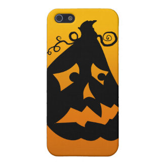 Pumpkin Scared iPhone 5/5S Cover