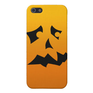 Pumpkin Scared iPhone 5/5S Covers