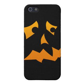 Pumpkin Scared iPhone 5 Cover