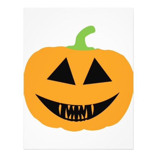 Pumpkin Scary halloween Flyer Design