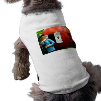 Pumpkin Shell Sleeveless Dog Shirt