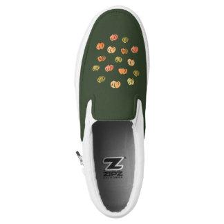 Pumpkin Slip On Shoes