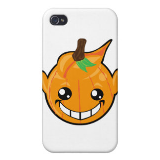 pumpkin smiley face covers for iPhone 4