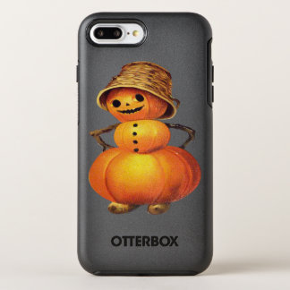 Pumpkin Snowman Vintage Halloween OtterBox Symmetry iPhone 7 Plus Case