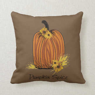 Pumpkin Spice Cushion