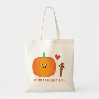 Pumpkin Spice Love Fall With Quote Tote