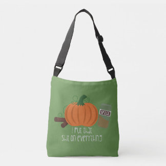 Pumpkin Spice On Everything Tote Bag
