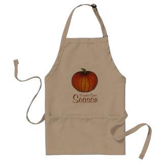 Pumpkin Spice Season Autumn Harvest Pumpkin Apron