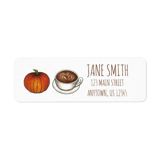 Pumpkin Spice Season Coffee Latte Autumn Fall