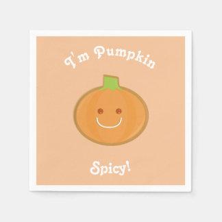 Pumpkin Spicy | Paper Napkin
