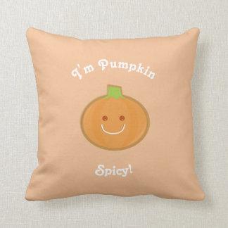 Pumpkin Spicy | Throw Pillow