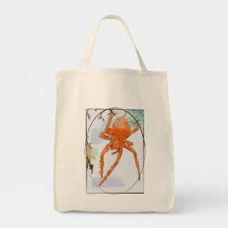Pumpkin Spider Bag