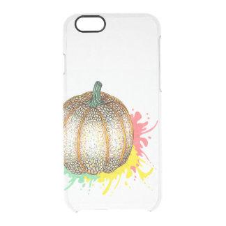 Pumpkin Splatter iPhone 6 Plus Case