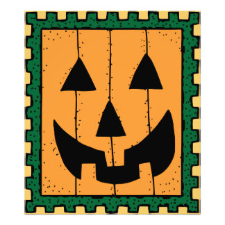 Pumpkin Stamp Photo Print