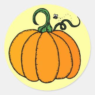 pumpkin stickers
