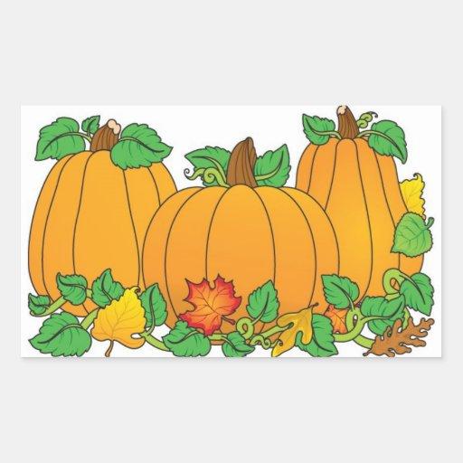 Pumpkin Stickers and Envelope Seals