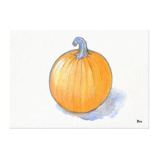 Pumpkin Study Canvas Prints
