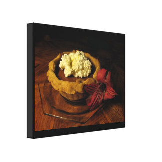Pumpkin Tart Gallery Wrapped Canvas
