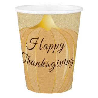 Pumpkin Thanksgiving   Paper Cup