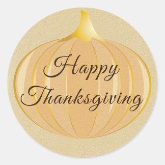 Pumpkin Thanksgiving   Sticker