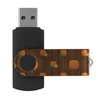 Pumpkin Tile USB Flash Drive