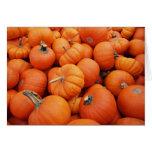 Pumpkin Time Cards
