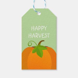 Pumpkin Top Gift Tags
