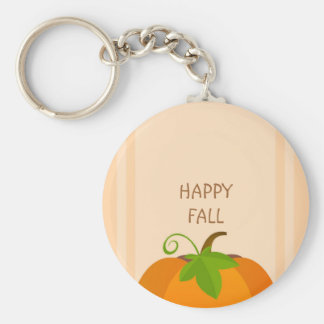 Pumpkin Top Key Ring