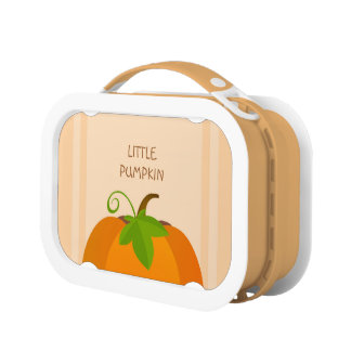 Pumpkin Top Lunch Box