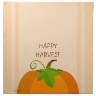 Pumpkin Top Napkin