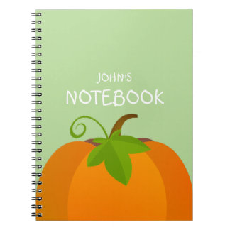 Pumpkin Top Notebook