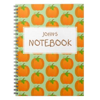 Pumpkin Top Notebooks