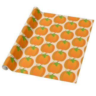 Pumpkin Top Wrapping Paper