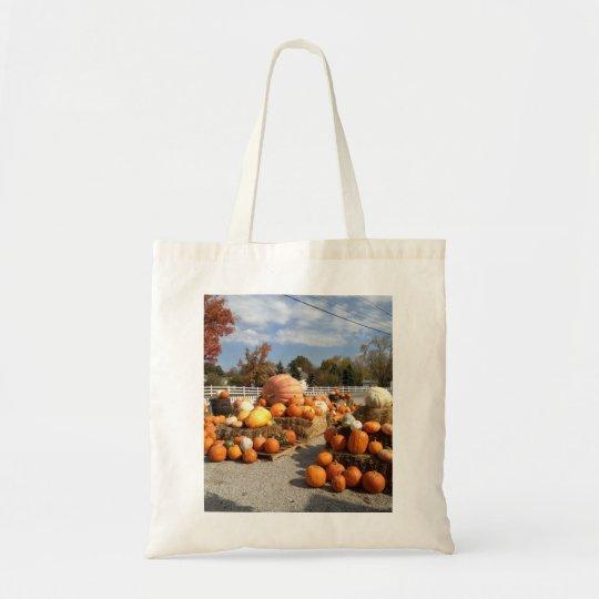 Pumpkin tote!