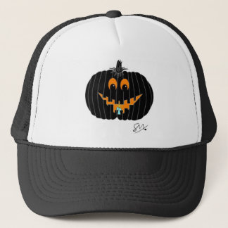 Pumpkin Trucker Hat