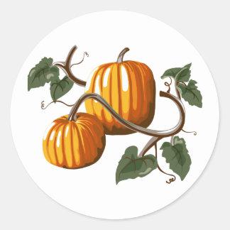 Pumpkin Vine Pumpkins Sticker