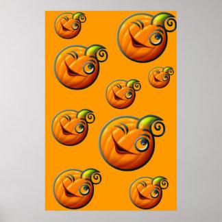 Pumpkin wink - posters