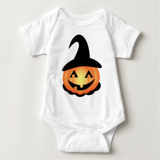 Pumpkin Witch Baby Bodysuit