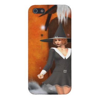 Pumpkin Witch Cover For iPhone 5