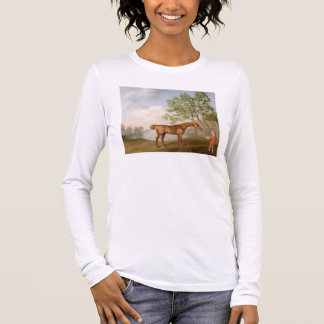 Pumpkin with a Stable-Lad, 1774 (oil on panel) Long Sleeve T-Shirt