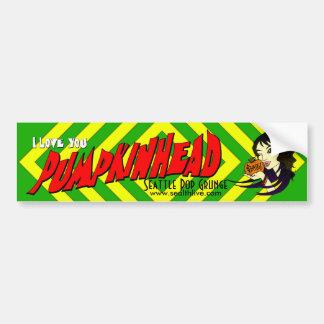 Pumpkinhead Arielle Bumper Sticker