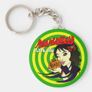 Pumpkinhead Arielle Keychain