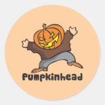 Pumpkinhead Classic Round Sticker