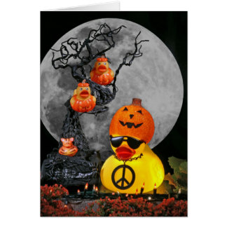 Pumpkinheads for Peace! Greeting Card